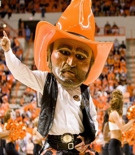 osu pistol pete, bomar arrest jokes