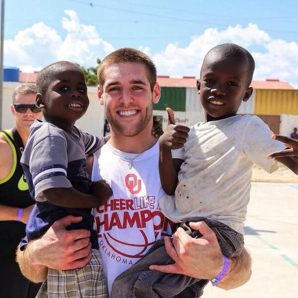 Sooners for Haiti - Trevor Knight