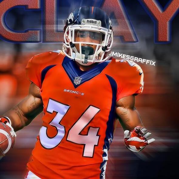 Brennan Clay in new uniform