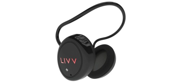 The design of Mark Clayton's new Livv Headphones.