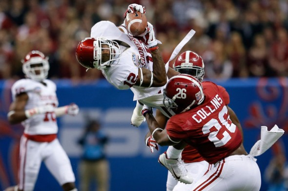 Derrick Woods vs Alabama, Sugar Bowl